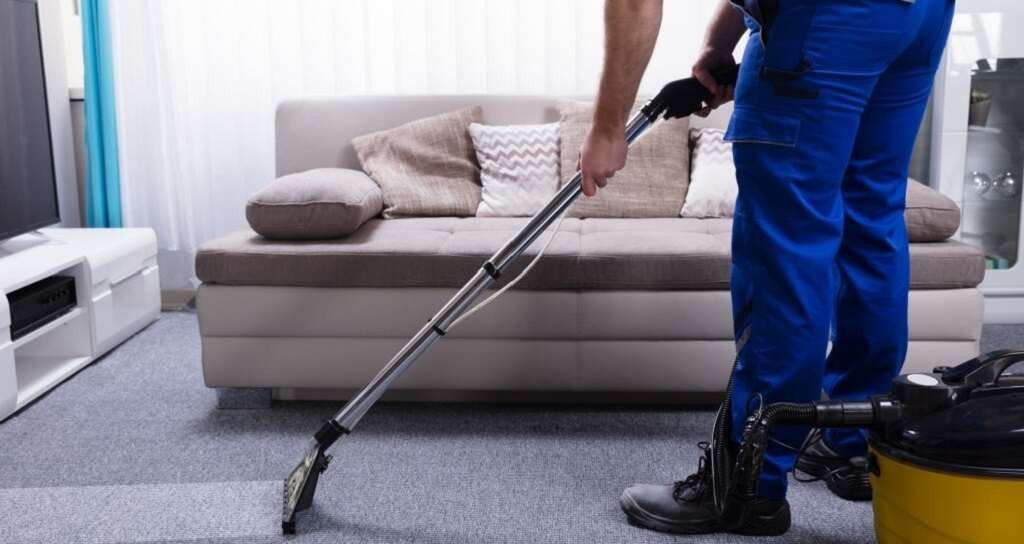 carpet cleaner protective gear